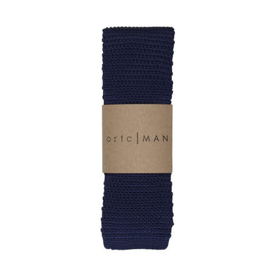ORTC man - 'Navy Knit' - Knitted Neck Tie