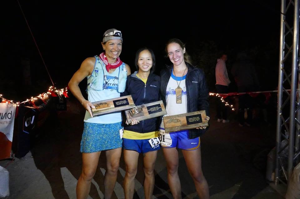Castle Peak 100K - Carrie Harris Hyatt - 3rd Place Woman!!