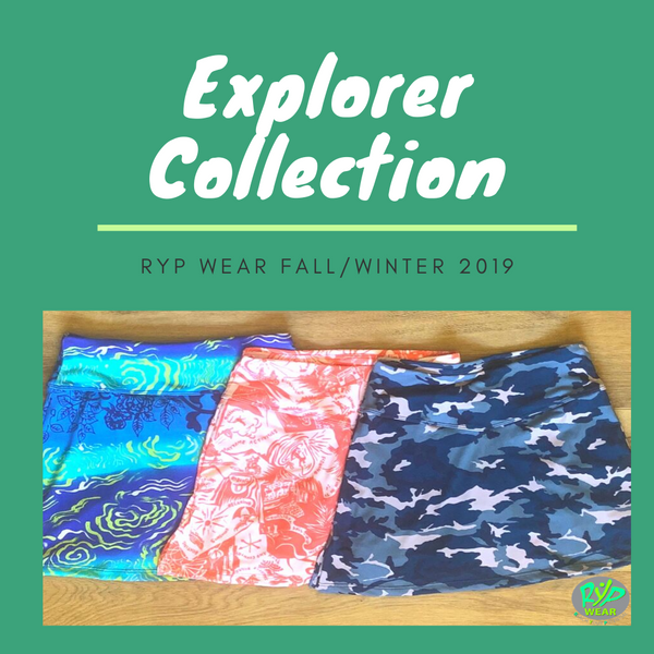 RYP Wear Explorer Collection running skirt athletic skirt Fall 2019