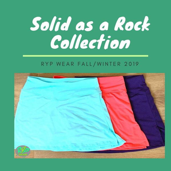 RYP Wear Solid as a Rock Running skirts athletic skirts Fall 2019 skirts