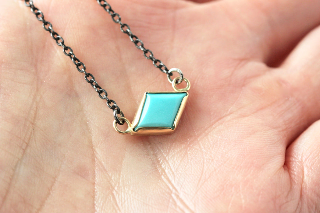 Turquoise Kite Necklace