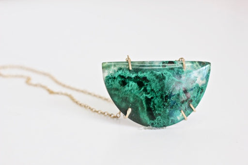 Chrysocolla Malachite Necklace