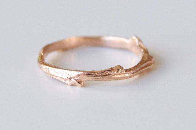 Twig Ring in 14k Gold - Twig 2