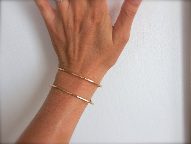 Gold Double Cuff