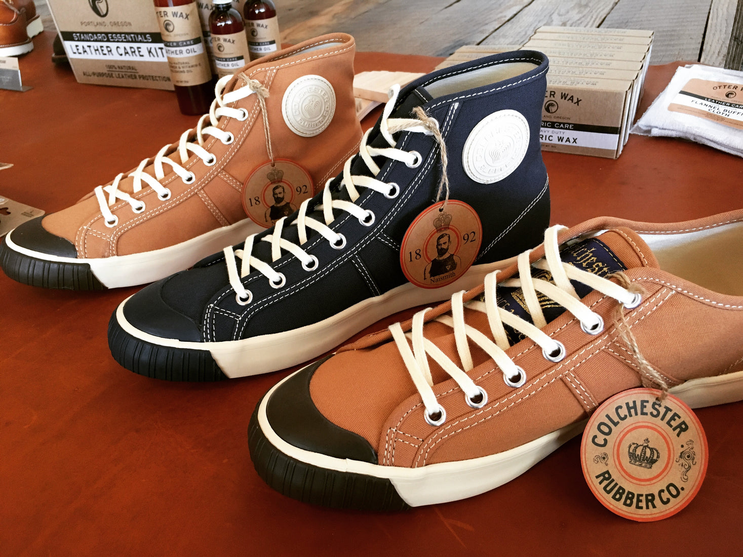 ef9f78b67cdf71 The World s Oldest Basketball Sneaker  Colchester Rubber Company ...