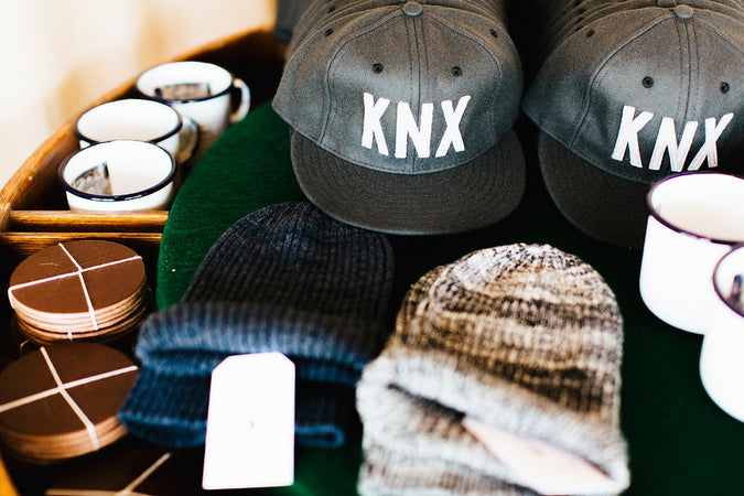 Knoxville KNX Cap-Made for Felding Co by Ebbets Field Flannels