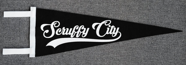 Scruffy City Pennant