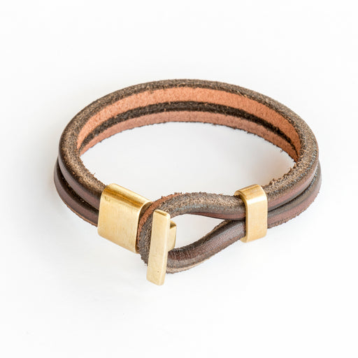Brass Premium Wristband, Jewelry, Tanner Goods - Felding Co