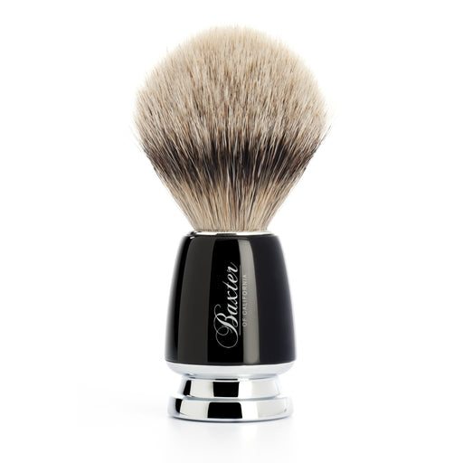 Silver Tip Badger Shave Brush, Baxter of California, - Felding Co