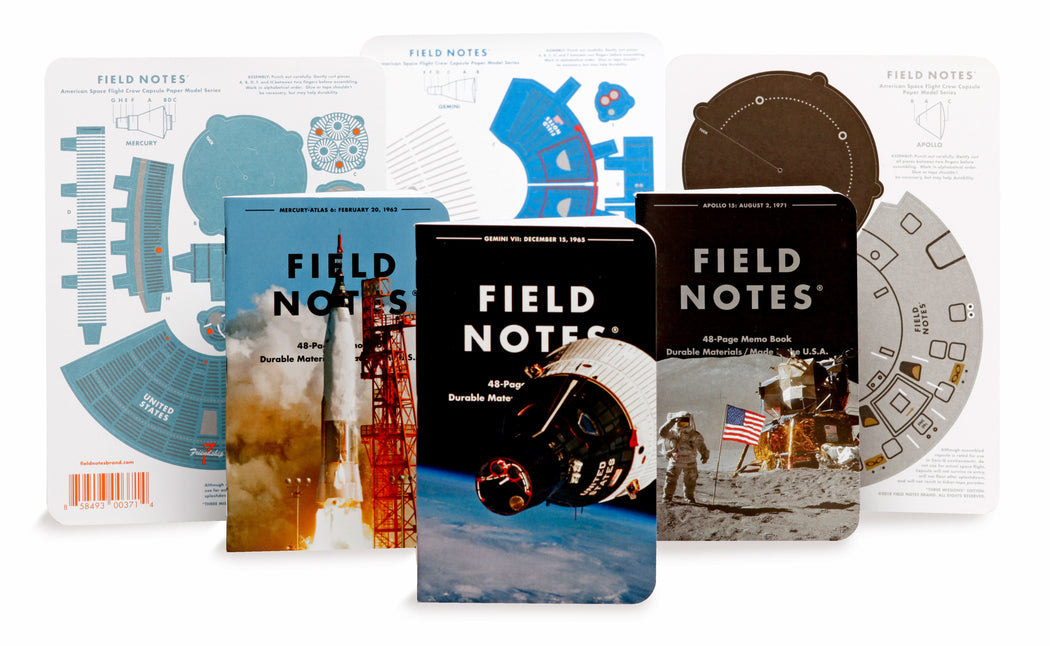 Three Missions Memo Books, Field Notes, - Felding Co