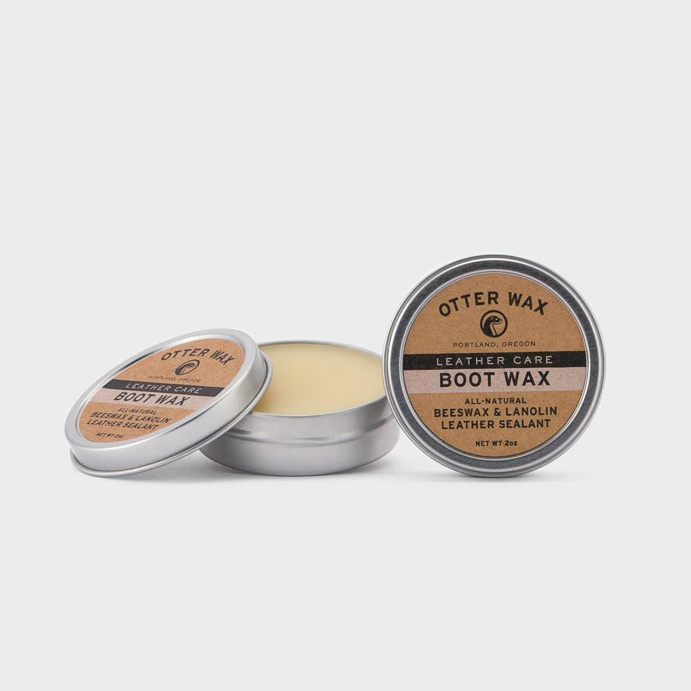 Otter Wax All-purpose natural boot wax. Leather wax.