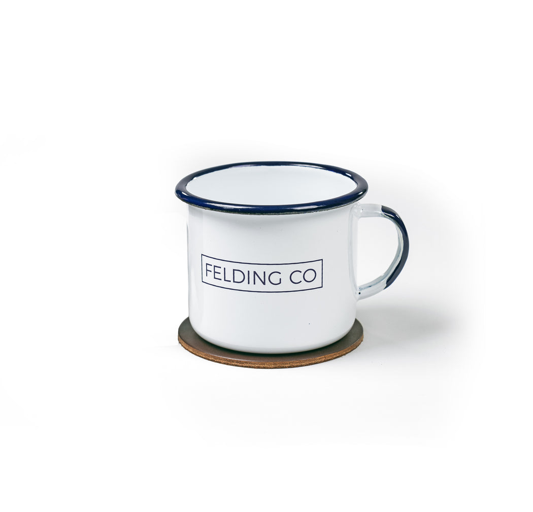 Felding Co Enamel Mug, Small Goods, Felding Co - Felding Co