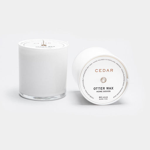 Cedar Soy Candle, Otter Wax, - Felding Co