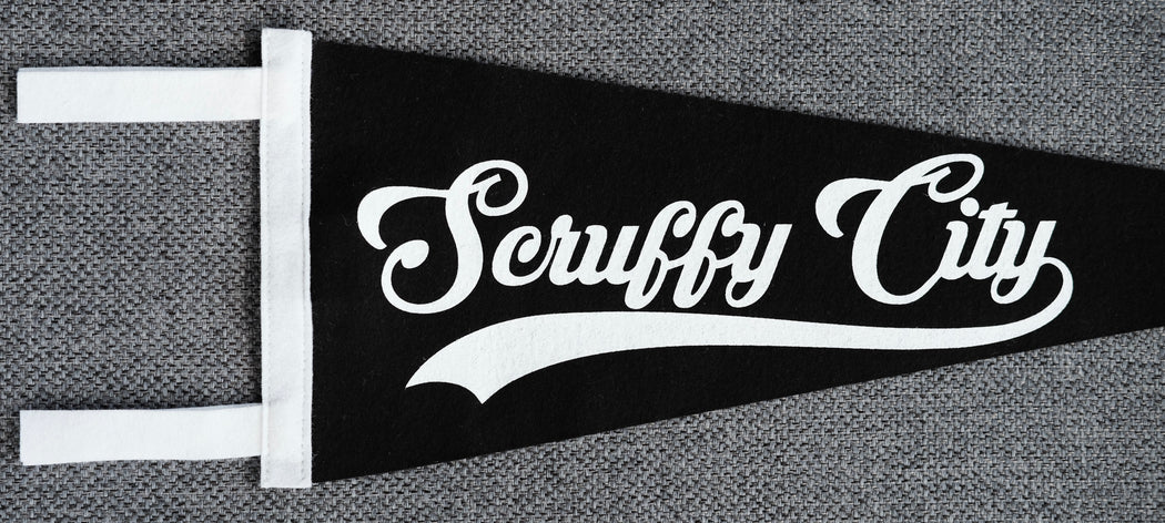 Scruffy City Pennant, F.Co Originals, Oxford Pennant - Felding Co