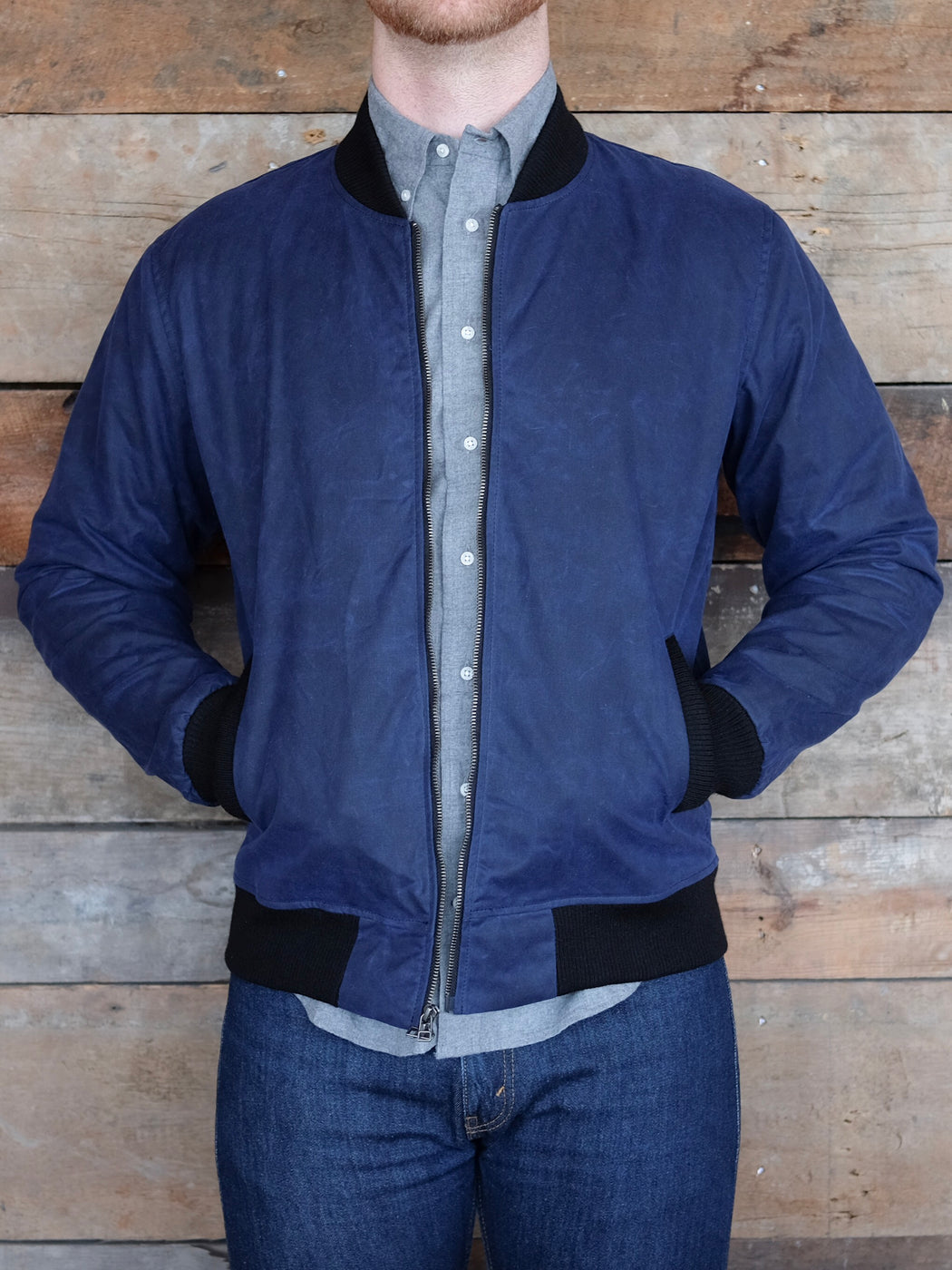 Stadium Jacket, Outerwear, 3sixteen - Felding Co