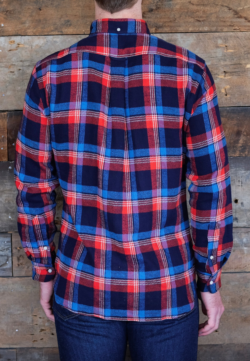 Wyoming Triple Yarn Flannel, Shirting, Gitman Brothers Vintage - Felding Co