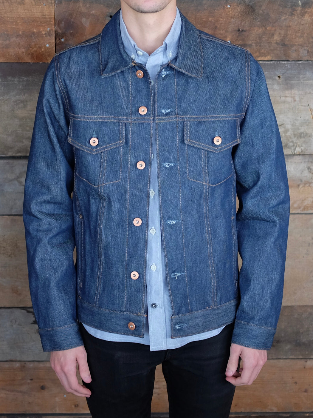 Jean Jacket, Outerwear, Tellason Stock - Felding Co