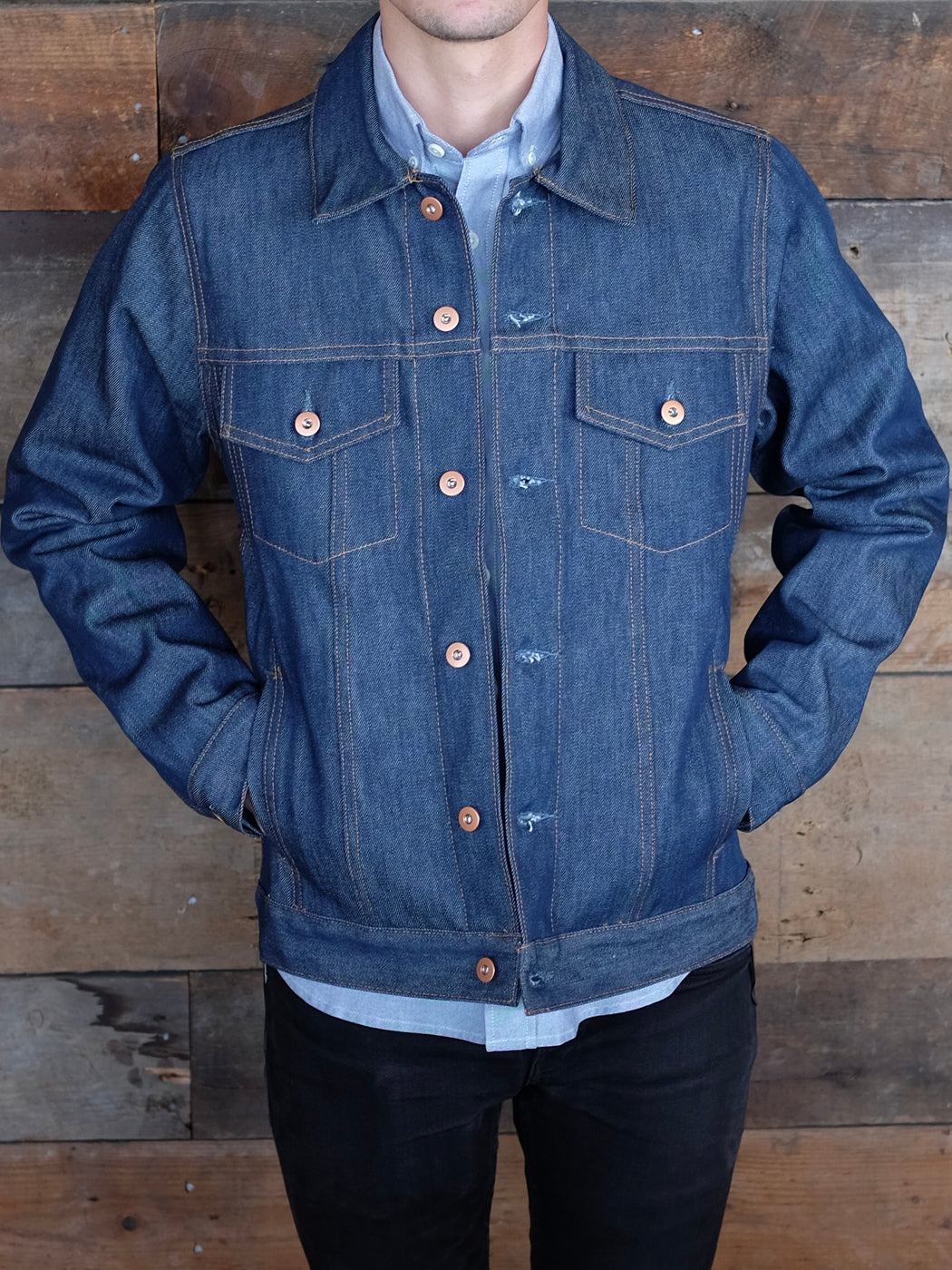 Jean Jacket, Tellason Stock, - Felding Co