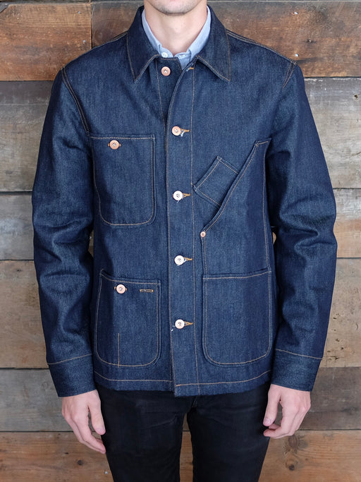 Coverall Jacket, Tellason Stock, - Felding Co