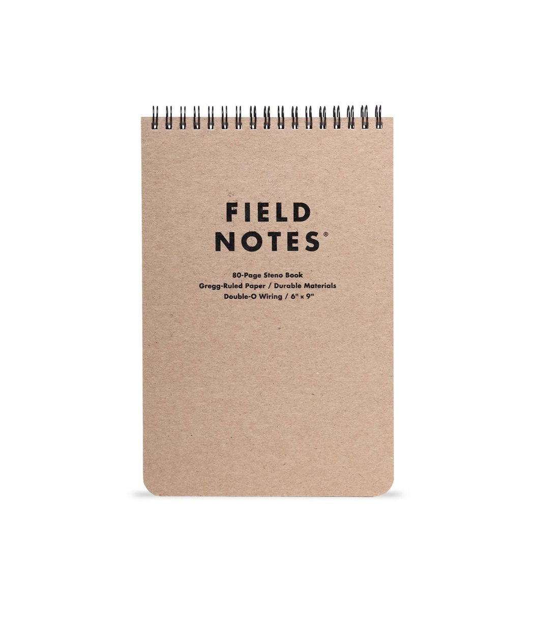 Field Notes Steno Pad with ruled paper.