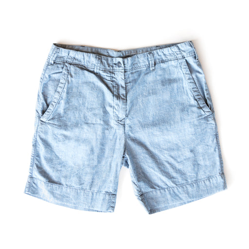 Indigo Chambray Walking Short, Shorts, Save Khaki United - Felding Co
