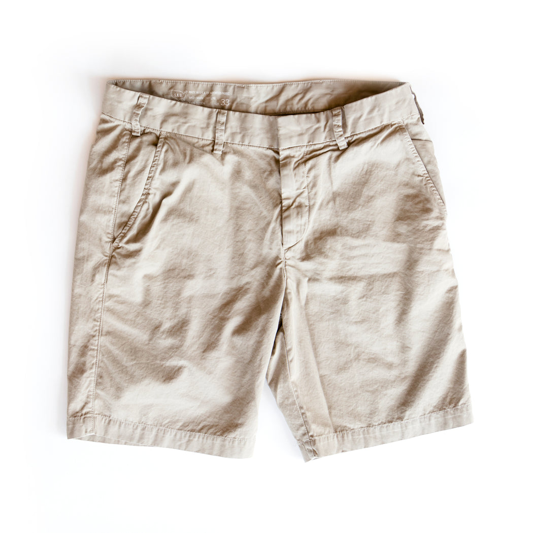 Light Twill Bermuda Short, Save Khaki United, - Felding Co