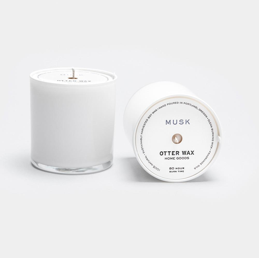 Musk Soy Candle, Small Goods, Otter Wax - Felding Co