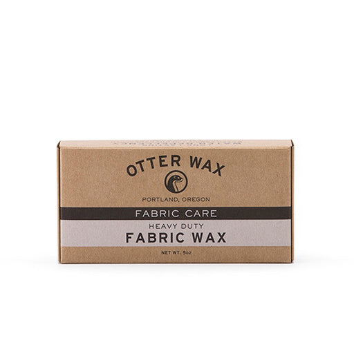 Otter Wax Fabric Wax perfect for waterproofing pants or outerwear.