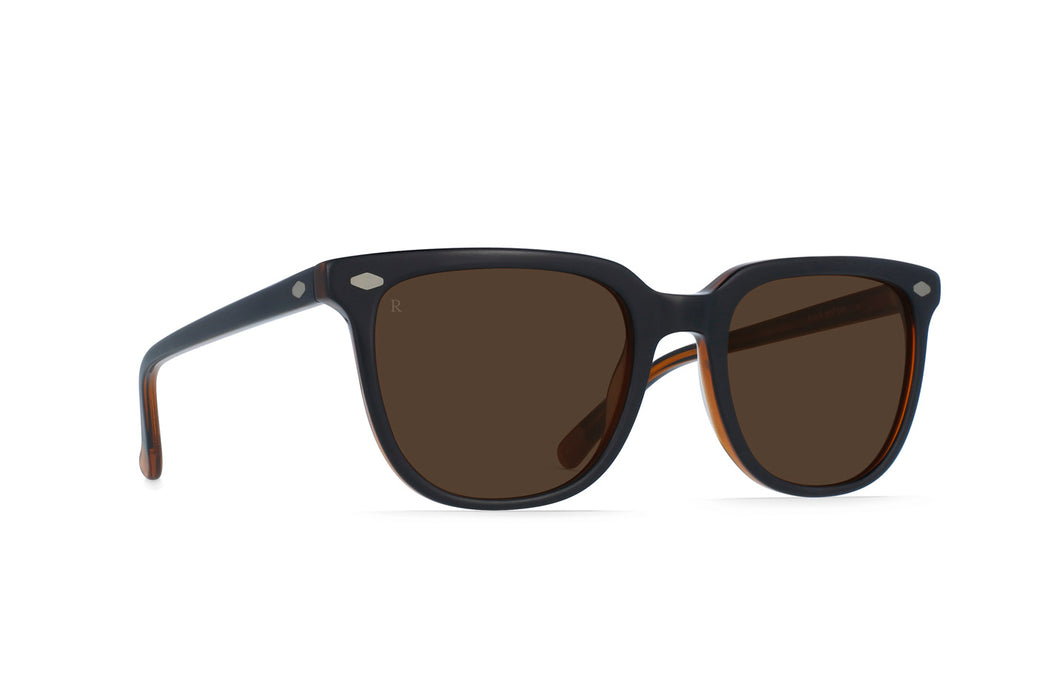 Raen Arlo Black and Tan/Brown Sunglasses