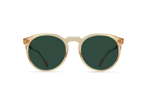 Raen Champagne Crystal / Green Polarized Sunglasses