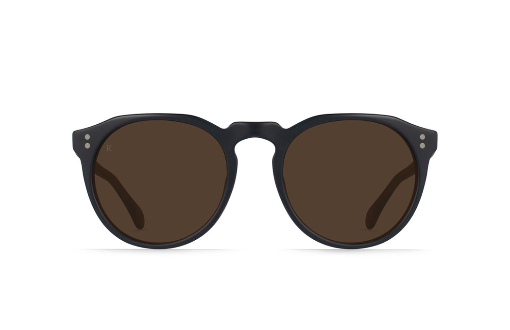 Raen Remmy Black and Tan/Brown Sunglasses