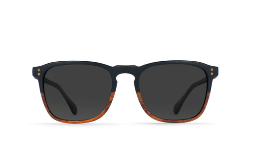 Raen Wiley Burlwood/Black Polarized Sunglasses