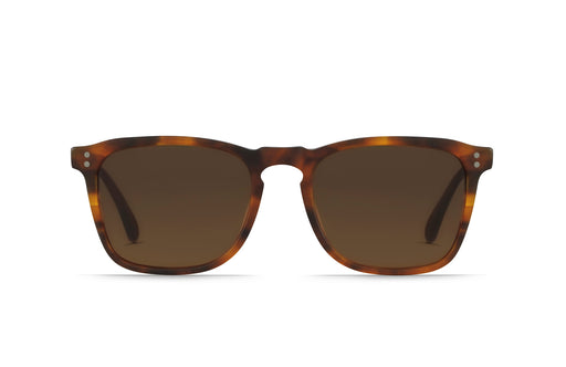 Raen Wiley Matte Rootbeer /Brown Sunglasses