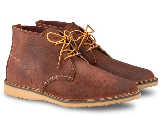 Weekender Chukka No. 3326 Boot, Redwing, - Felding Co