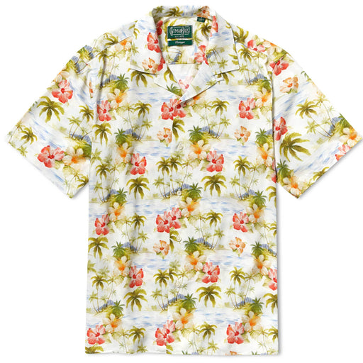 Camp Shirt: Short Sleeve, Shirting, Gitman Brothers Vintage - Felding Co