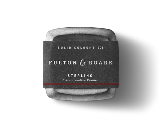 Sterling Solid Cologne, Grooming, Fulton & Roark - Felding Co