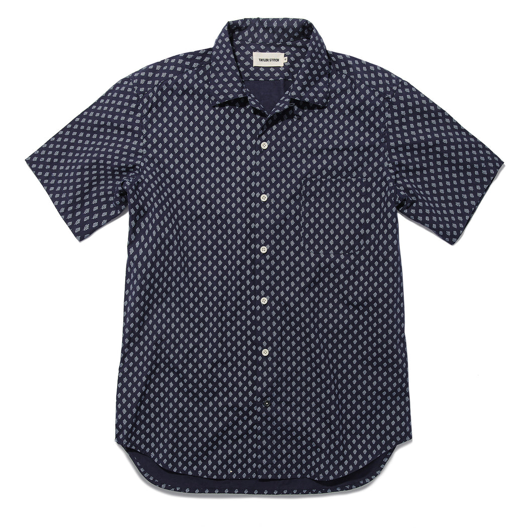Short Sleeve Hawthorne Shirt, Shirting, Taylor Stitch - Felding Co