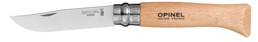 N° 08 Stainess Steel Pocket Knife, Small Goods, Opinel - Felding Co