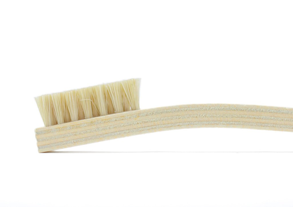 Otter Wax Tampico Cleaning Brush. Great on Leather Goods.