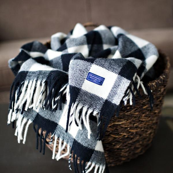 Buffalo Check Wool Throw, Small Goods, Faribault Woolen Mill Co. - Felding Co