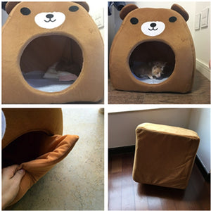 Kennel Bear Brown Bed