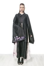 DURUMAK full length embroidered coat