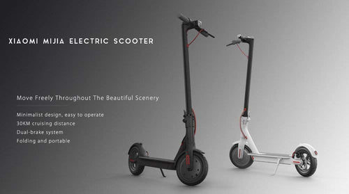 Xiaomi Mijia M365 Smart Electric Scooter (Black)