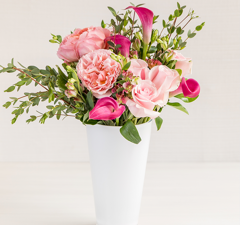 DIY - Delivers Every Two Weeks - 1 Month Prepay (Gift) - Enjoy Flowers