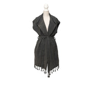 Stonewashed Beach Dresses - Black