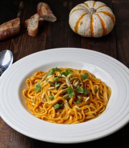 Vegan Pumpkin Linguine