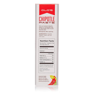 Chipotle Paste – Gluten free, Vegan, FODMAP – 4oz