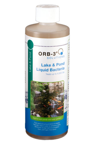 Orb-3 Lake & Pond Liquid Bacteria