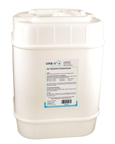 Orb-3 Wastewater Treatment Enzyme