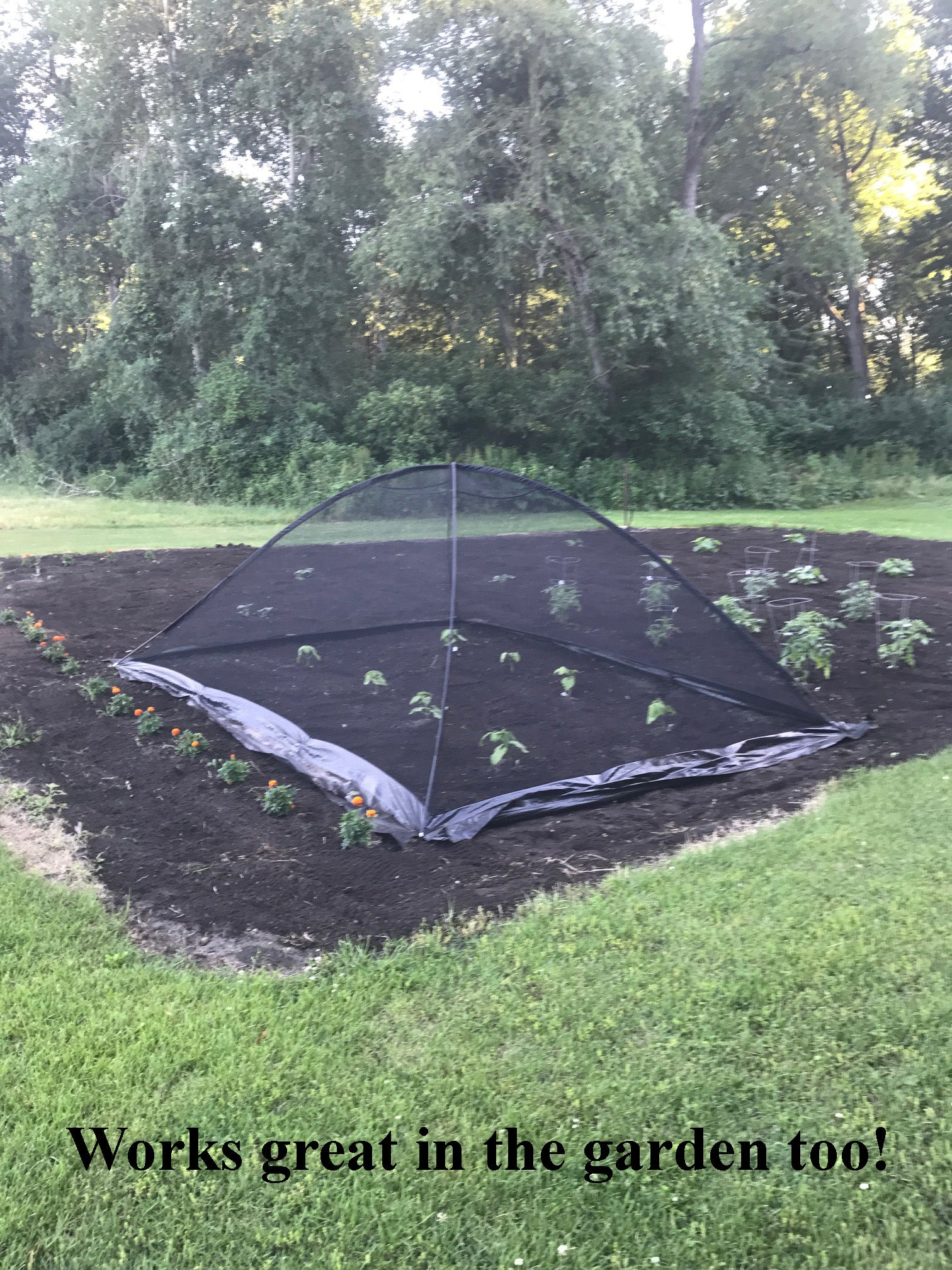 ... EasyPro Pond Garden Cover Protective Net Tent Dome Netting ... & EasyPro Pond Net Tents - Protect Gardens too! u2013 Great Lakes Bio Systems